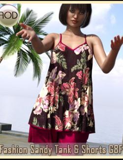 Fashion Sandy Tank &Shorts G8F