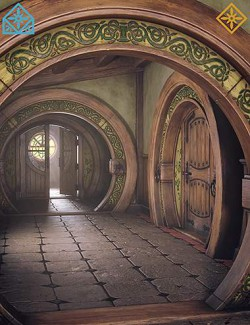 ROG Fantasy Home - Hallway