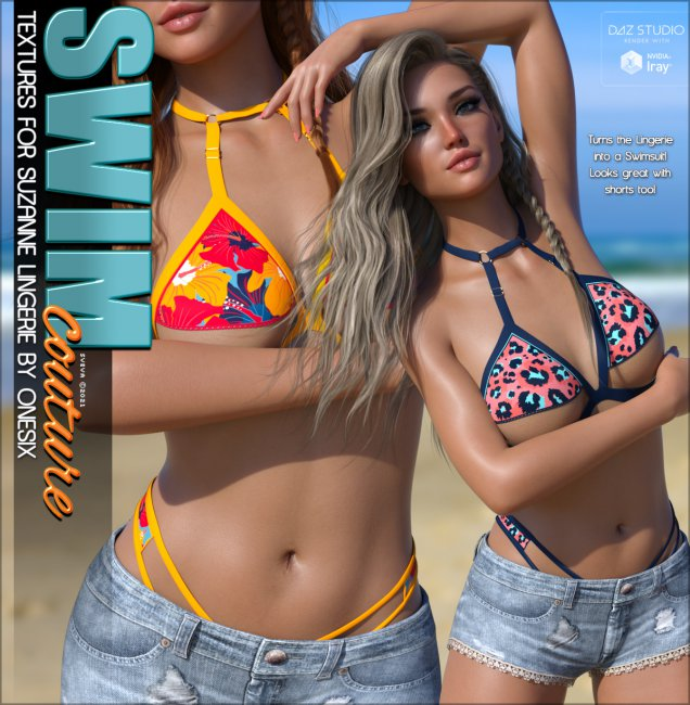 SWIM Couture Textures for Suzanne Lingerie G8F