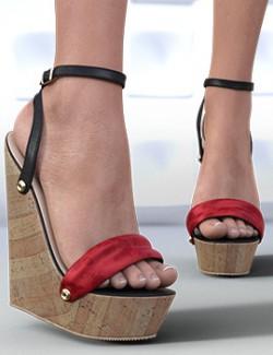 Lymei Wedge Sandals