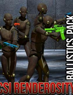 CSI Renderosity-Ballistics Pack