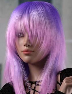 dForce Roxi Hair for Genesis 8 Female(s)
