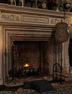 Fireplace Accessories Iray