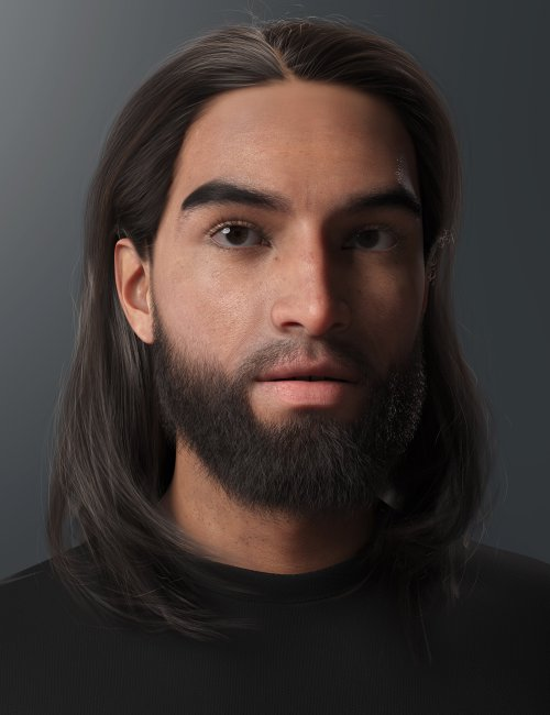2021-12 Hair for Genesis 8 and 8.1