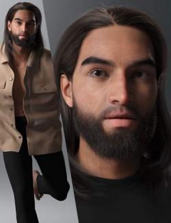 RY Dario Character and Hair Bundle
