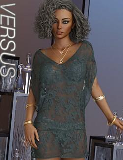 VERSUS- dForce Weightless Dress for Genesis 8 Females