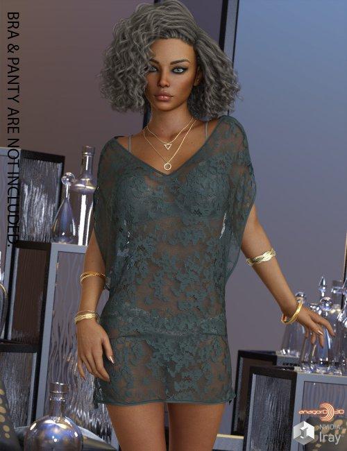 VERSUS - dForce Weightless Dress for Genesis 8 Females