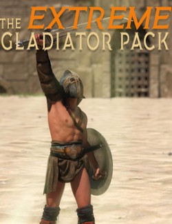 The Extreme Gladiator Pack: Poses for Genesis 8 & 8.1 Males