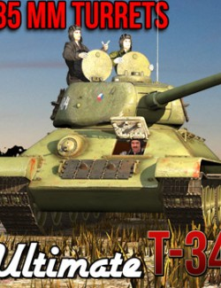Ultimate T-34: Turrets 85 mm