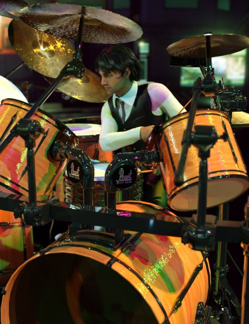 Rock Star Series - Drum Kit