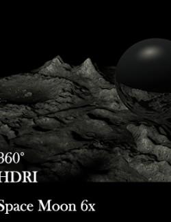 Space Moon 360 HDRI