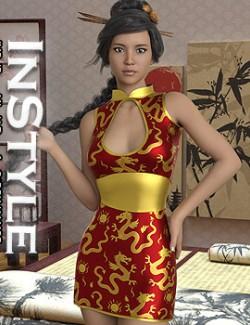 InStyle - JMR dForce Misaki Dress for G8F