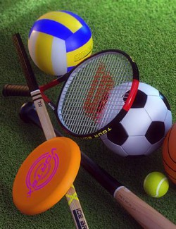 Father's Day Sports Props for Genesis 8.1 Males and Females
