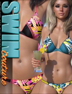 SWIM Couture Textures for Blush Bikini G8F