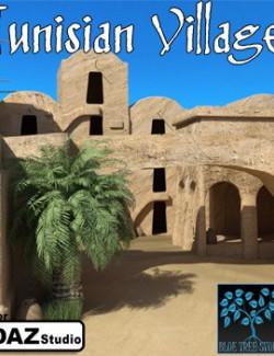 Tunisian Village for Daz Studio