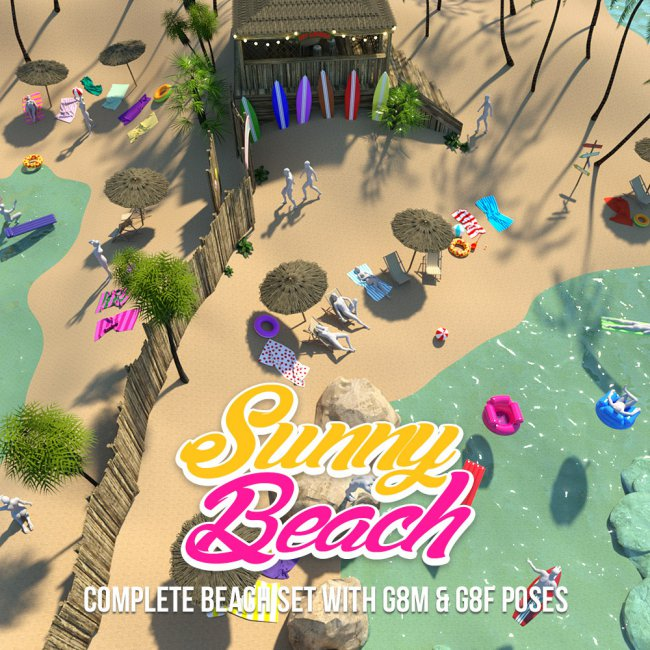 Sunny Beach for DS Iray