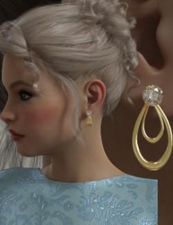 Diamond Studs N Jackets for Genesis 8 Female