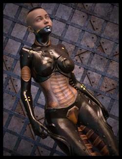 Cyber Steampunk Girl for Genesis 8 Female