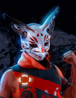 Artisan Festival Masks for Genesis 8