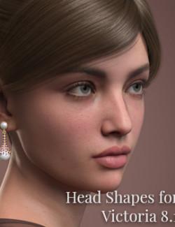 CGI Women- Head Shapes for Victoria 8.1