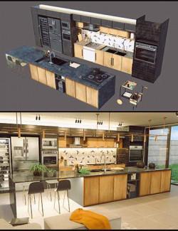 Cecilia House Kitchen Props