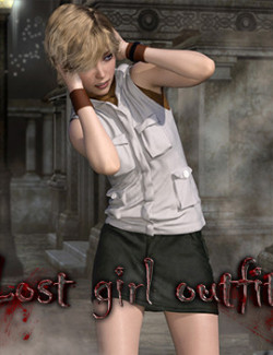Lost girl outfit  for G8F