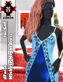 JMR dForce Michele Nightdress for G8F