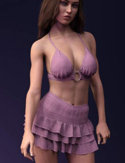 X-Fashion dForce Embroidery Style Set for Genesis 8 and 8.1 Females