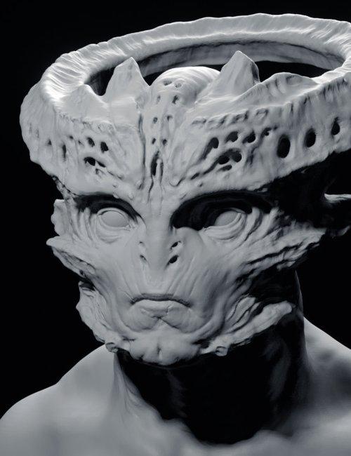 Sculpting an Alien in Blender 2.8