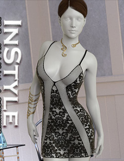 InStyle - JMR dForce Michele Nightdress for G8F