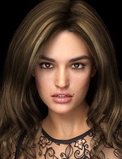 Miley HD for Genesis 8 and 8.1 Female
