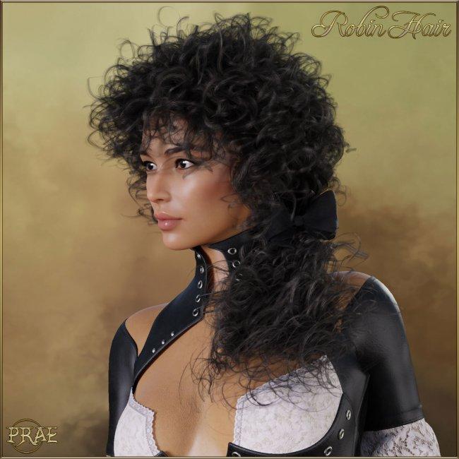 Prae-Robin Hair For G8F Daz