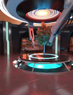Scifi Plantation Lab