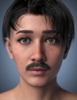 Genesis 8.1 Mustache