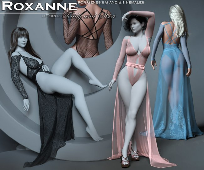 Roxanne for Genesis 8 and 8.1