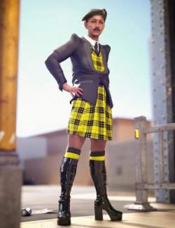 Catty 8.1 Gender Fluid Pride Fashion Bundle