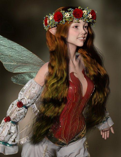 MRL dForce Fantasy Hair Pack 2 for Genesis 8 and 8.1 Females