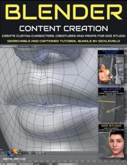 Blender Content Creation for Daz Studio Bundle