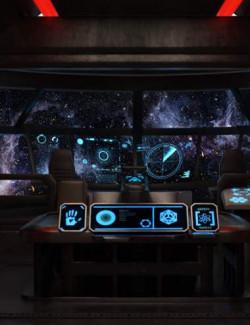 Captain's Space Cockpit