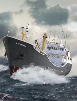 Katherina Boat Iray Textures Add-On
