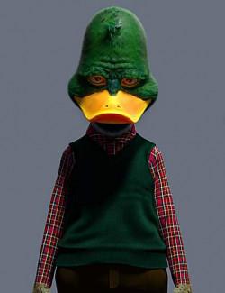 Modern Duckie for Genesis 8 Male