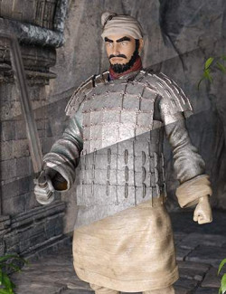 Texture and Weapon Pack for the Action Terracotta Warrior