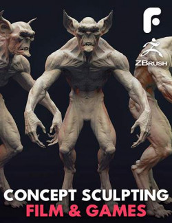 Concept Sculpting for Film and Games
