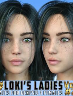 Loki's Ladies Faces Volume 2