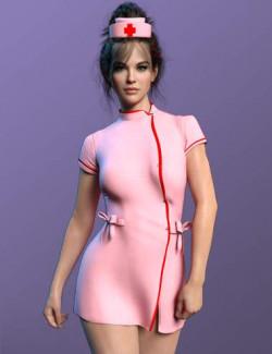 X-Fashion Uniform 06 for Genesis 8 and 8.1 Females