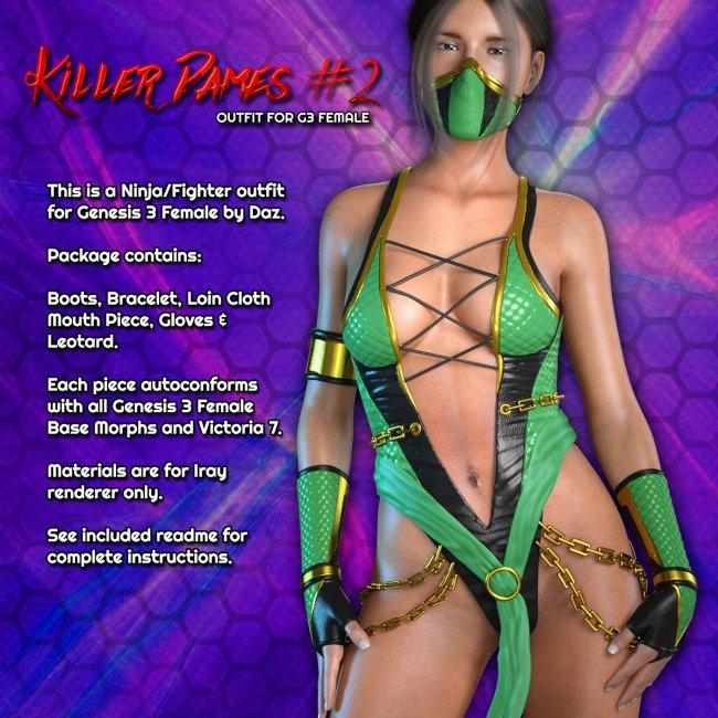 Exnem Killer Dames 2 Outfit for G3 Female