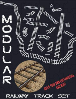 Modular Railway Track Set
