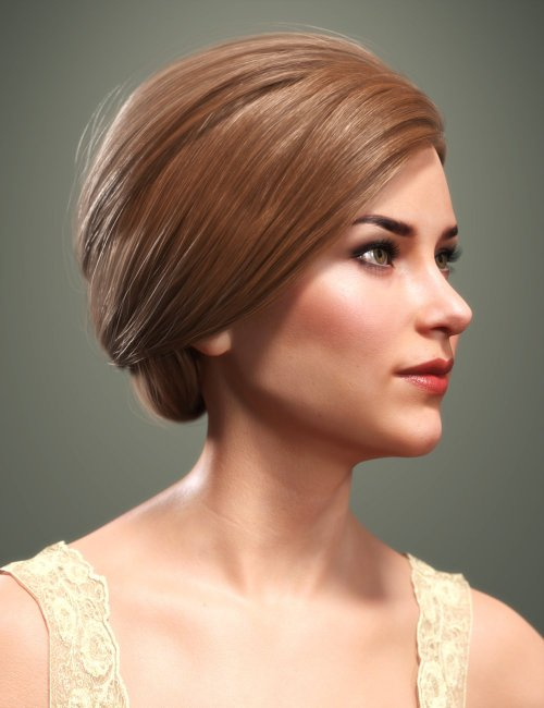 SP Hair 017 for Genesis 3 and 8 Females