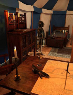 Commander's Tent Furniture and Things