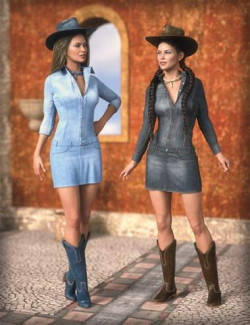 MD dForce Classic Jeans Female Outfit Textures